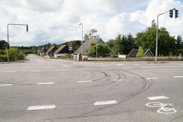 Rondwandelen in Fakse, Denemarken