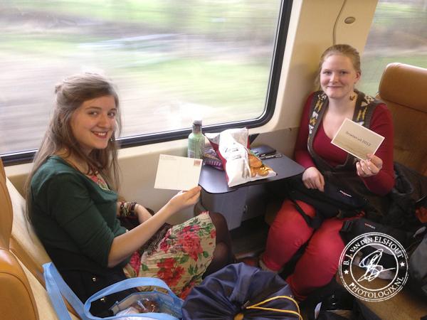 Gezelligheid in de trein