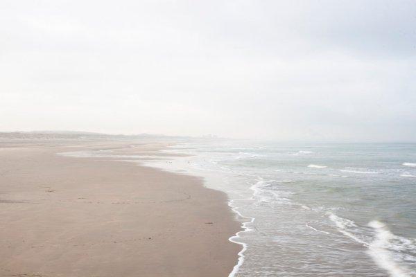 Het stille strand - december 2012
