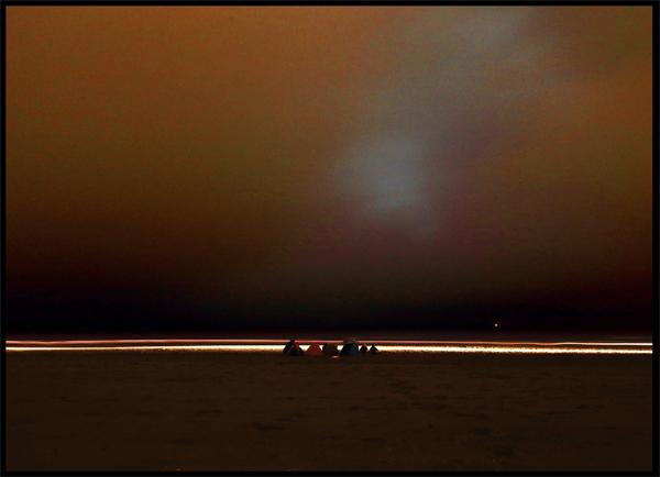 De eerste nacht van de Vrije Vlucht Foto: Bart van Geyt