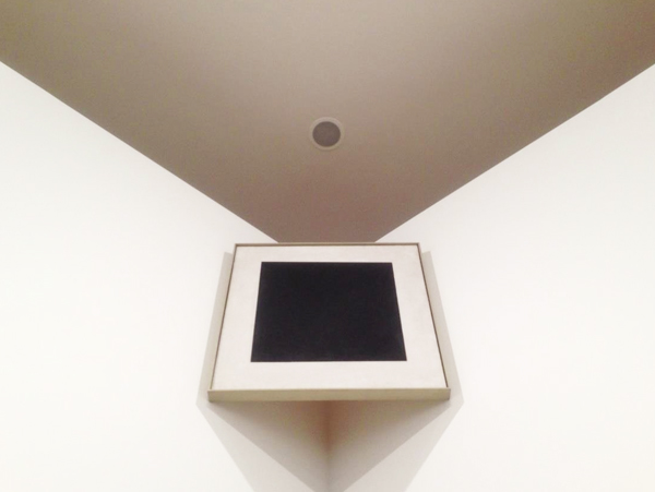 Malevich, Black Square in Amsterdam