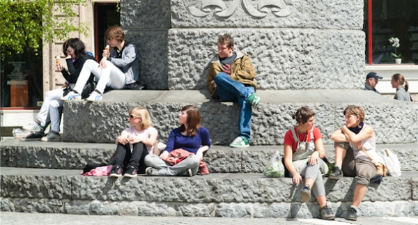 Reis, kijk en luister #2 in de Bethelkapel in Den Haag Foto: Ljubljana - SI, foto: Crossroad Europe / Bruno van den Elshout