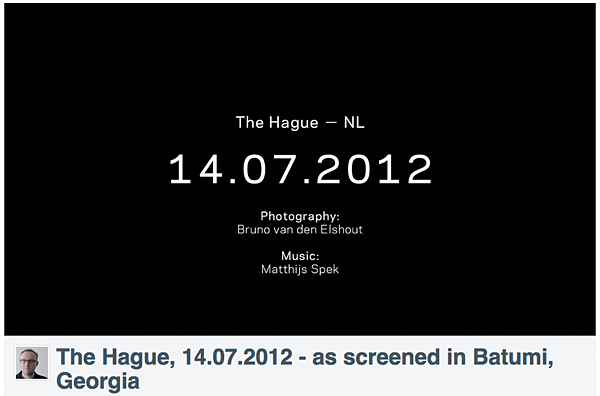 The Hague - NL, 14.07.2012
