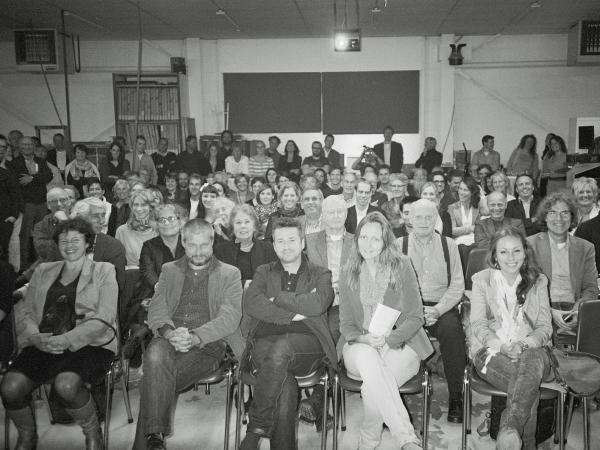 Opening expositie Poldermotieven bij Lenoirschuring, 6 oktober 2011