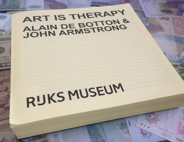 Catalogus Art as Therapy - Rijksmuseum