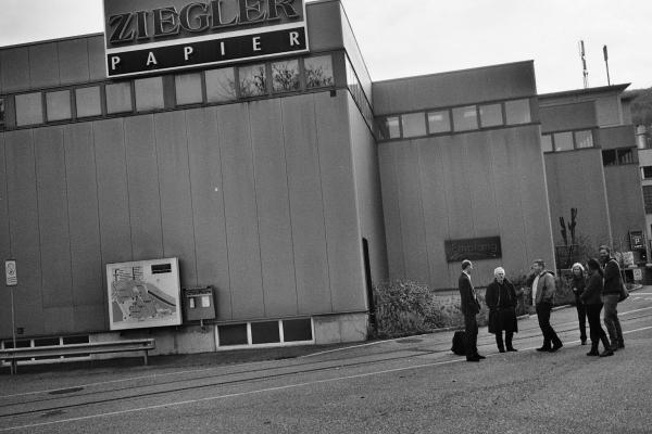 Aankomst bij Ziegler