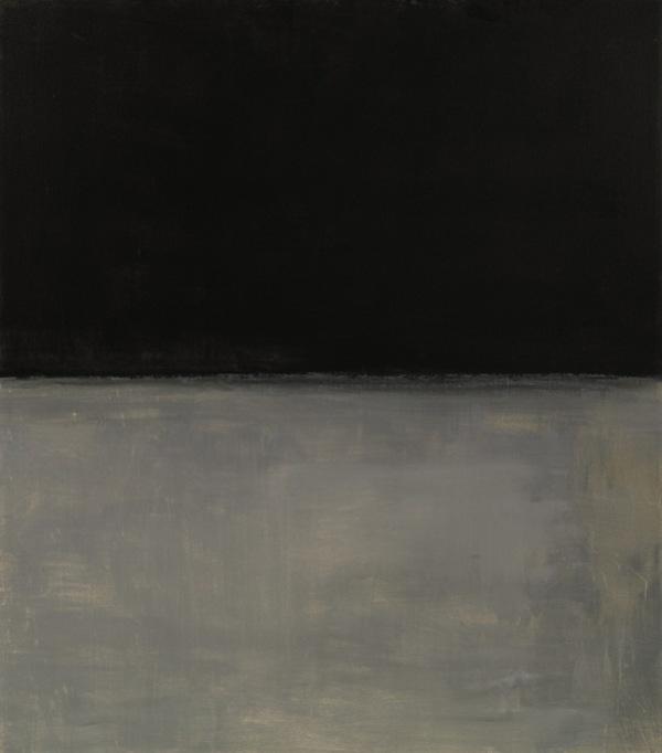 Untitled (Black on Grey), Mark Rothko, 1970