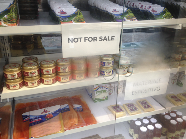 Uit Wit-Rusland. Maar niet te koop.