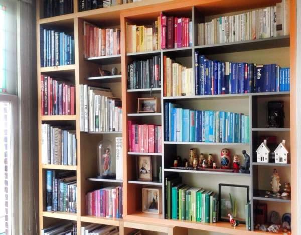 Boekenkast thuis